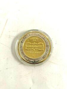 Gold Coast Limited Edition Twenty Dollar Gaming Token .999 Fine Silver