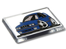 Koolart Cartoon Car 325i E30 Coupe Strong Acrylic Fridge Magnet Choose Colour
