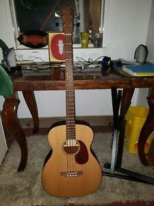 Martin Acoustic Bass  Mahogany Rare with hard case