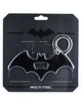 BATMAN Logo Multitool bottle opener keyring keychain novelty Christmas Gift