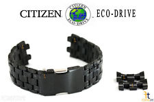 Citizen Eco-Drive JY8035-55E Black Ion-Plated SS Watch Band JY8035-04E