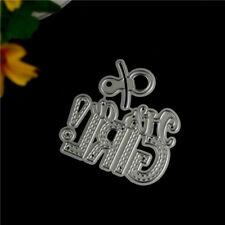 Design Metal Cutting Die Fors DIY Scrapbooking Album Paper Cards Embossing Craft