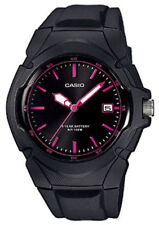 Casio LX610-1A2V, Unisex Black Resin Band, Date, 100 Meter WR, 10 Year Battery