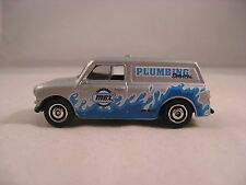 LOOSE 2014 MATCHBOX CITY WORKS AUSTIN MINI VAN PLUMBING FROM A 5 PACK