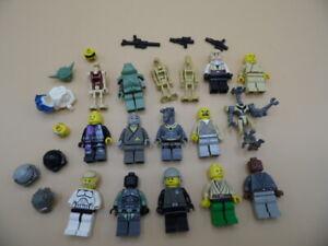 LEGO STARWARS ETC JOB LOT OF MINIFIGS MIXED MINI FIGURES & PARTS #28.(LOTS MORE)