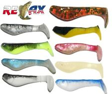 Shad Lure Fishing Soft Bait Paddle Tail Relax KOPYTO 3,5cm Shad Set of 9 Perch