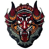 Embroidered Patches Iron Sew On Patches transfers Badges appliques Monster Mask