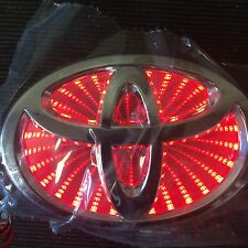 Newest LED logo Light badge for TOYOTA  RED color USA SHIP