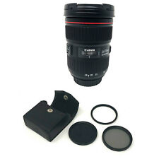 Canon EF 24-70mm f/2.8L II USM Lens with Filter Kit 82mm UK NEXT DAY DEL