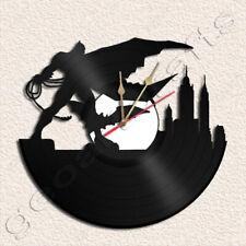 Bat Man Wall Clock Vinyl Record Clock Home Decoration