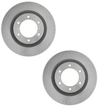 Pair Set 2 Front Coated Disc Brake Rotors ACDelco For Lexus GX460 Toyota 4Runner