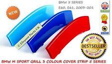 Parrilla de riñón BMW M Sport 3D 3 Tira de Cubierta de color serie 5-E60 E61 M5 2003-2010