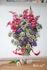 Merejka Cross Stitch Kit K-95 The Field Bouquet