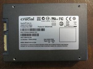"Crucial CTFDDAC256MAG-1G1 FW:0007 CBNEQ2P002 256gb 2.5"" Sata SSD"