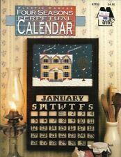 Four Seasons Perpetual Calendar in Plastic Canvas Annie's Attic 87P93 1992