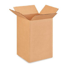 25 6x6x10 Cardboard Paper Boxes Mailing Packing Shipping Box Corrugated Carton