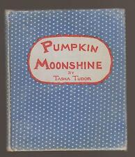 V Rare VG 1938 First Edition HC Pumpkin Moonshine by Tasha Tudor Her First Book