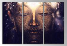 Carreau Moderne Photographie Bouddha Bouddha base bois, 87 x 62 cm Réf. 26110