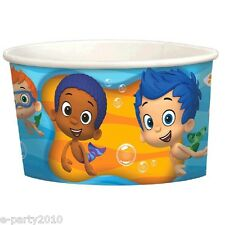 BUBBLE GUPPIES ICE CREAM CUPS (8) ~Birthday Party Supplies Dessert Gil Noni Nick