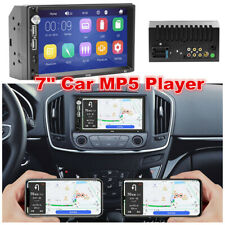 """12V 7"""" Inch 2 DIN Car Stereo Radio HD MP5 FM USB Player Touch Screen Mirror Link"""