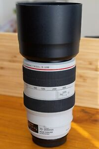 Canon EOS EF 70-300mm f/4-5.6 L series IS USM Telephoto zoom lens