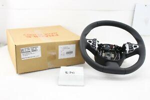 New OEM Genuine Aston Martin DBX DBS DB11 Vantage Black Leather Steering Wheel