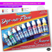 NEW Jacquard Dye Na Flow-Natural/synthetic fabrics wood paper canvas - 9 Colours