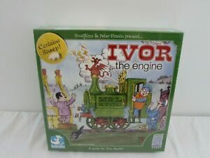 IVOR THE ENGINE BOARD GAME FROM ESDEVIUM GAMES AGE 8+  -NEW-    #NSDC#