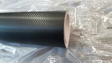 3D Black Carbon Fibre Vinyl Wrap Car BubbleFree 1520MM x 3000MM,Free SQUEEGEE,UK