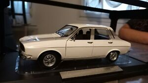renault 12 ts norev blanche 1973 1/18 200 exemplaires