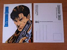 LAZARUS LEDD Cartolina LIMITED POSTCARD DA COLLEZIONE STAR COMICS