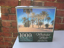 WONDERFUL WORLD 1000 PC JIGSAW PUZZLE SAHARA DESERT TUNISIA FACTORY SEALED!