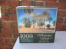 WONDERFUL WORLD 1000 PC JIGSAW PUZZLE SAHARA DESERT TUNISIA FACTORY SEALED!