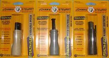 3 JOHNNY STEWART PREDATOR MOUTH CALLS PC-8 PC-9 PC-10 + LANYARD RUBBER COATED