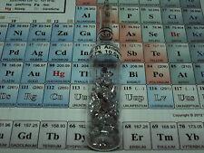 Sb 51 Antimon Element Periodensystem der Elemente Metall Legierung Probe Glas