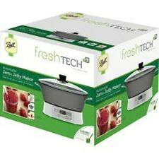 NEW BALL 35005 FRESH TECH AUTOMATIC FOOD JAM & JELLY MAKER  KIT NEW IN BOX SALE
