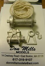 (5 pc) Winch 1/24th Scale By Don Mills Models