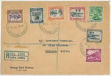 POSTAL HISTORY - COVER: WESTERN SAMOA to MALTA! 1936