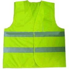 Yellow Child Reflective Safety Vest Sport HiVis Viz Children SZ 2-3 New