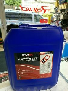 20 LTR SUPER CONCENTRATED RED LONGLIFE GM (5yr) ANTIFREEZE - 20 Litre