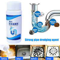 Powerful Sink Drain Cleaner Pipe Dredging Agent & Drainage Powder Strainer Clean
