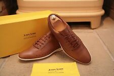 John Lobb for Aston Martin Men's Tan Leather Sneakers Trainers Casual Shoes UK 7