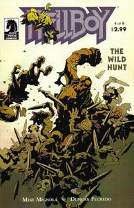 Hellboy: The Wild Hunt #4 (2008-2009) Dark Horse Comics