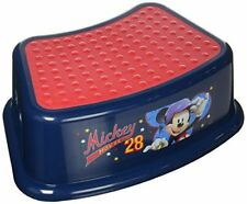 "NEW Disney Mickey Mouse ""All Star"" Step Stool Blue FREE SHIPPING"