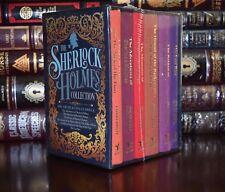 Sherlock Holmes Collection Arthur Doyle New Sealed 6 Volume Box Set 2 Day Ship
