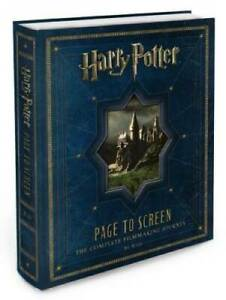 Harry Potter Page to Screen: The Complete Filmmaking Journey - Hardcover - GOOD
