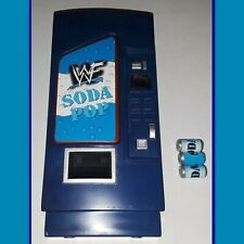 Rare WWF Soda Pop Can Vending Machine WWE Wrestling Action Figure Toy Accessory