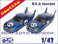 Kit JPS - CD Panhard - 24 H du Mans 1964  - Prépeint - ref : KP397