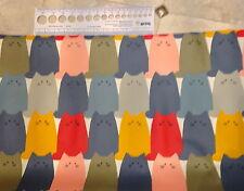 Quiet Gatti laminato cotone giapponesi come olio Panno venduto dai METRI META'