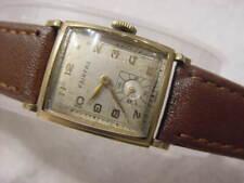 Vintage GOLD FD large antique Art Deco FAIRFAX CURVEX mens watch